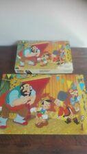Puzzle Pinocchio Walt Disney Clementoni Clem Toys 120 Pezzi Vintage