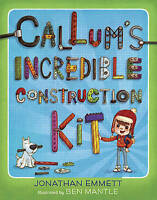 """NEW"" Callum's Incredible Construction Kit, Emmett, Jonathan, Book"