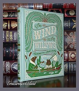Wind in the Willows K. Grahame Illustrated Sealed New Leather Bound Collectible