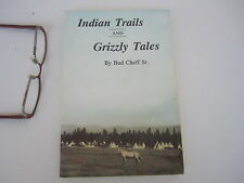 Montana Mountains Native American Indian Trail Local History Author Signed 1993