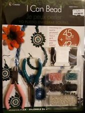 Seed Bead Jewelry Making Starter Pack New Bracelet Easy to follow Instruction