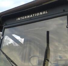 IHC Aufkleber für Kabine international .