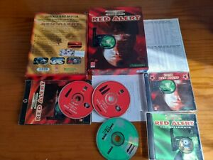 Command & Conquer Red Alert & Aftermath Expansion PC BIG BOX