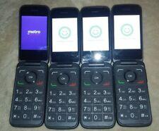 ONE Unlocked GSM Cricket Alcatel SmartFlip 4052C flip Phone 4G LTE WiFi whatsapp