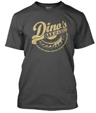 Thin Lizzy Inspired Dinos Bar and Grill Men's T-shirt X Large Charcoal