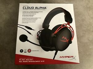 HYPERX cloud alpha pro gaming headset