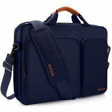 AirCase Laptop Bag Messenger Bag Sleeve for 15.6-Inch Laptop MacBook (Blue)