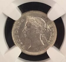 1899 STRAITS SETTLEMENTS 5 CENTS NGC MS61 POP.5