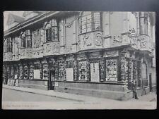 Sufffolk: Ancient House, Ipswich c1903 - Old Postcard Pub by Geo Wootton & Son