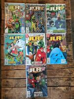 JLA Year One #2-5,9,11-12 **SEVEN ISSUE LOT** (DC 1998) Higher Grade