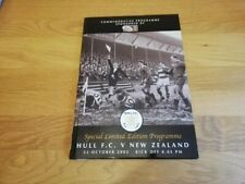 More details for 2002 hull fc v new zealand - last game at boulevard hardback rare