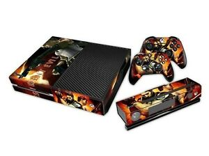 Resident Evil SKIN DECAL STICKER For XBOX ONE Console