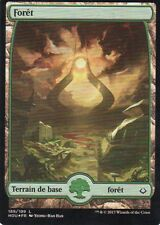 MTG Magic - Âge de la Destruction - Forêt N°189 Full Art - Premium / Foil VF