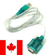 USB to RS232 DB9 9 Pin Adapter Programming Cable - SHIPS FROM CANADA