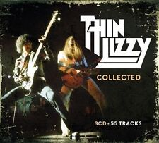 Collected by Thin Lizzy (CD, May-2012, 3 Discs, Universal)