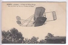 CPA   TRANSPORT -  AVIATION AVION AEROPLANE BIPLAN WILBURG WRIGHT VOL 1908 ~C13