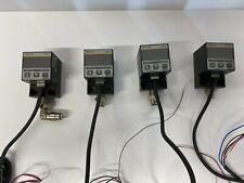 Lot of 4 Used SunX Dp3-41 Digital Pressure Sensor Switch Dp341