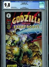 Godzilla #8 CGC 9.8 NM/MT 1996 Dark Horse Comics K17
