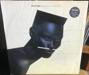 "GRACE JONES my jamaican guy/j.a. guys (dub)*cry now 1983 UK ISLAND PS 12"" SINGLE"