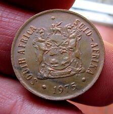 1975 South Africa 2 centavos