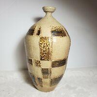 Vintage Jar Ceramic Clay Modern Pattern Primitive Design OA3C18