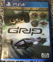 Grip Combat Racing-Rollers vs Airblades Ultimate Edition PlayStation 4 PS4 NEW