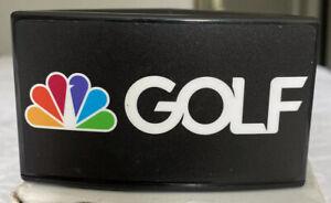 Rare NBC GOLF Sports Mic Flag Golf Channel NASCAR NHL Old School Vintage Peacock