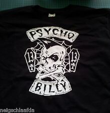 PSYCHOBILLY T-SHIRT XL hot rod frankie meteors demented mad sin 666