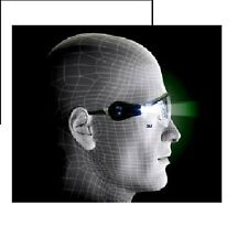 CLEAR SAFETY GLASSES WITH LED LIGHTS 3M Item 11356  NEW LOW PRICE