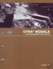 Harley Davidson Dyna Teilekatalog Parts Katalog 2005