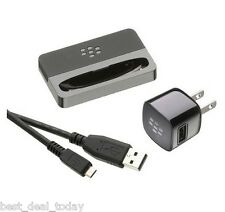 Oem Blackberry Charging Desktop Charger USB Pod Dock For Bold Touch 9930 9900
