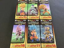 Dragon Ball Z World Collectable Figure WCF Doll BATTLE OF SAIYANS Vol.3 3 Set 6