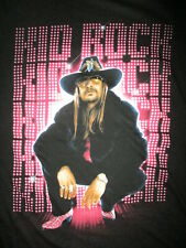 KID ROCK CONCERT T SHIRT First Kiss Cheap Date Tour date Cities WOMEN JUNIORS LG