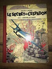 BLAKE & MORTIMER LE SECRET DE L'ESPADON SX 1 CONTRE-ATTAQUE
