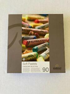Rembrandt 90 Count Soft Pastels Landscape Selection