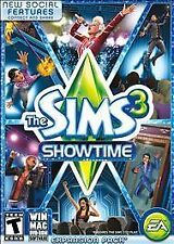 Sims 3: Showtime (Windows/Mac: Mac and Windows, 2012) NEW