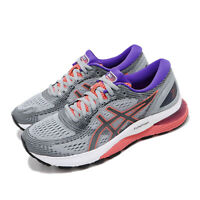 Asics Gel-Nimbus 21 Grey Black Purple White Women Running Shoes 1012A156-023