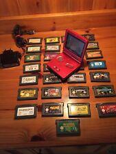 Nintendo Gameboy Advance SP + 29 Spiele