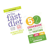 The 5:2 Cookbook,The Fast Diet 2 Books Collection Set Paperback BrandNew Pack