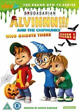 Alvin and The Chipmunks - Who Ghosts There [DVD] [2016][Region 2]