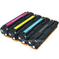 4PK Toner CC530A CC531A CC532A CC533A For HP 304A LaserJet CM2320 CP2025