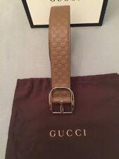 Gucci Cinturón de firma para hombre Talla 38 pulgadas 95cm nuevo PVP £ 270