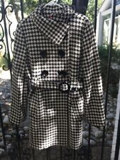 Esprit Houndstooth Peacoat, NWT