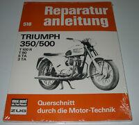 Reparaturanleitung Triumph Bonneville 350 500 T 100 R T 90 5 TA 3 TA Buch NEU!