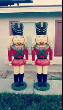 🌲🌲 2 6ft Tall Holiday Christmas Decoration Display  Nutcrackers