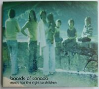 BOARDS OF CANADA MUSIC HAS THE RIGHT TO CHILDREN CD