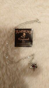 Alchemy Gothic Crystal Pentagram  Necklace