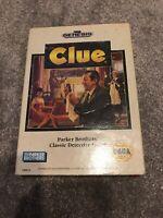 Clue (Sega Genesis, 1992) Complete