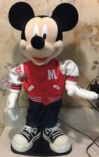 Blue Ridge Animatronic Mickey Mouse Rock Around the Clock Animated Figure WORKS