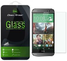 Dmax Armor for HTC One M8 Tempered Glass Screen Protector Saver Shield